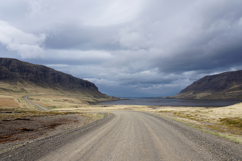 """You never know where the road may lead.""   -Somewhere in Western Iceland."
