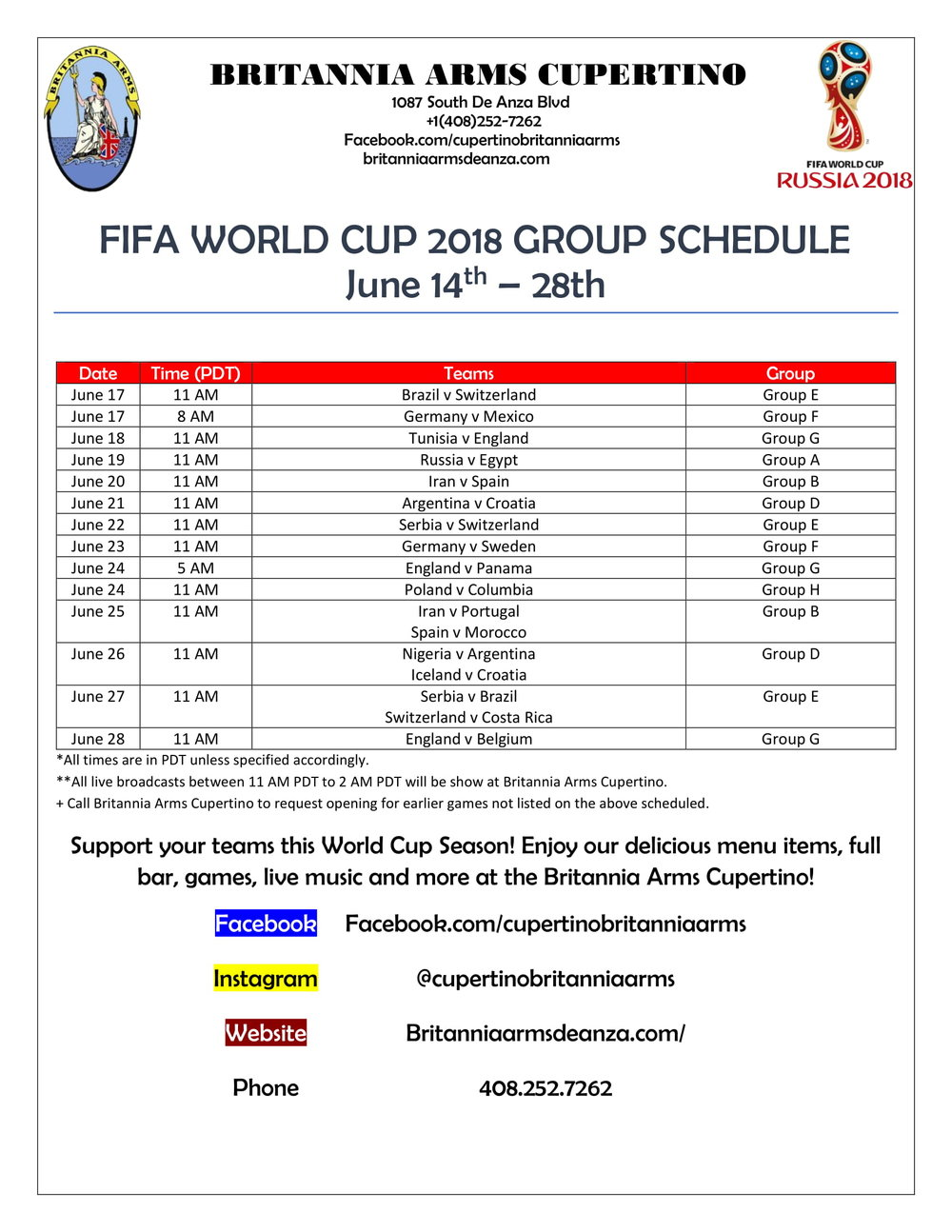 Fifa World Cup 2018 Britannia Arms Schedule-1.jpg