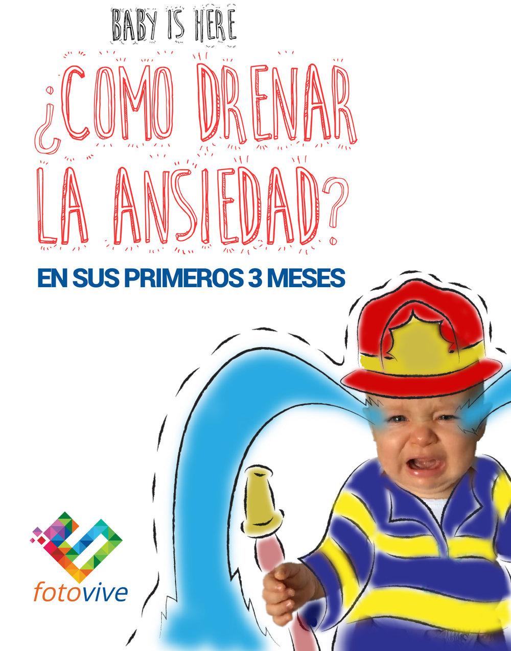 Guía Baby is Here - Cómo drenar la ansiedad