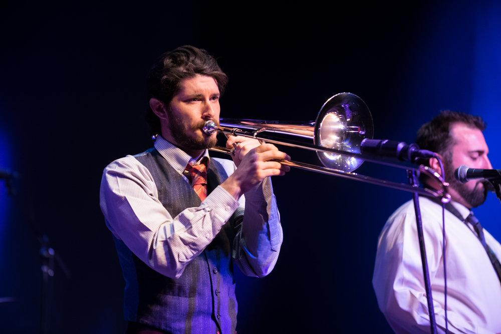 Tom Buswell - Trombone / Vox / Hype