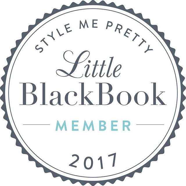 "Super excited to officially be apart of Style Me Pretty's ""Little Black Book"" ❤️"