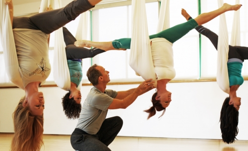 This course will open the doors for you to continue your education in AntiGravity®. This is prefect for people who want to become a certified teacher or who want to have a hammock at home and have a daily practice.