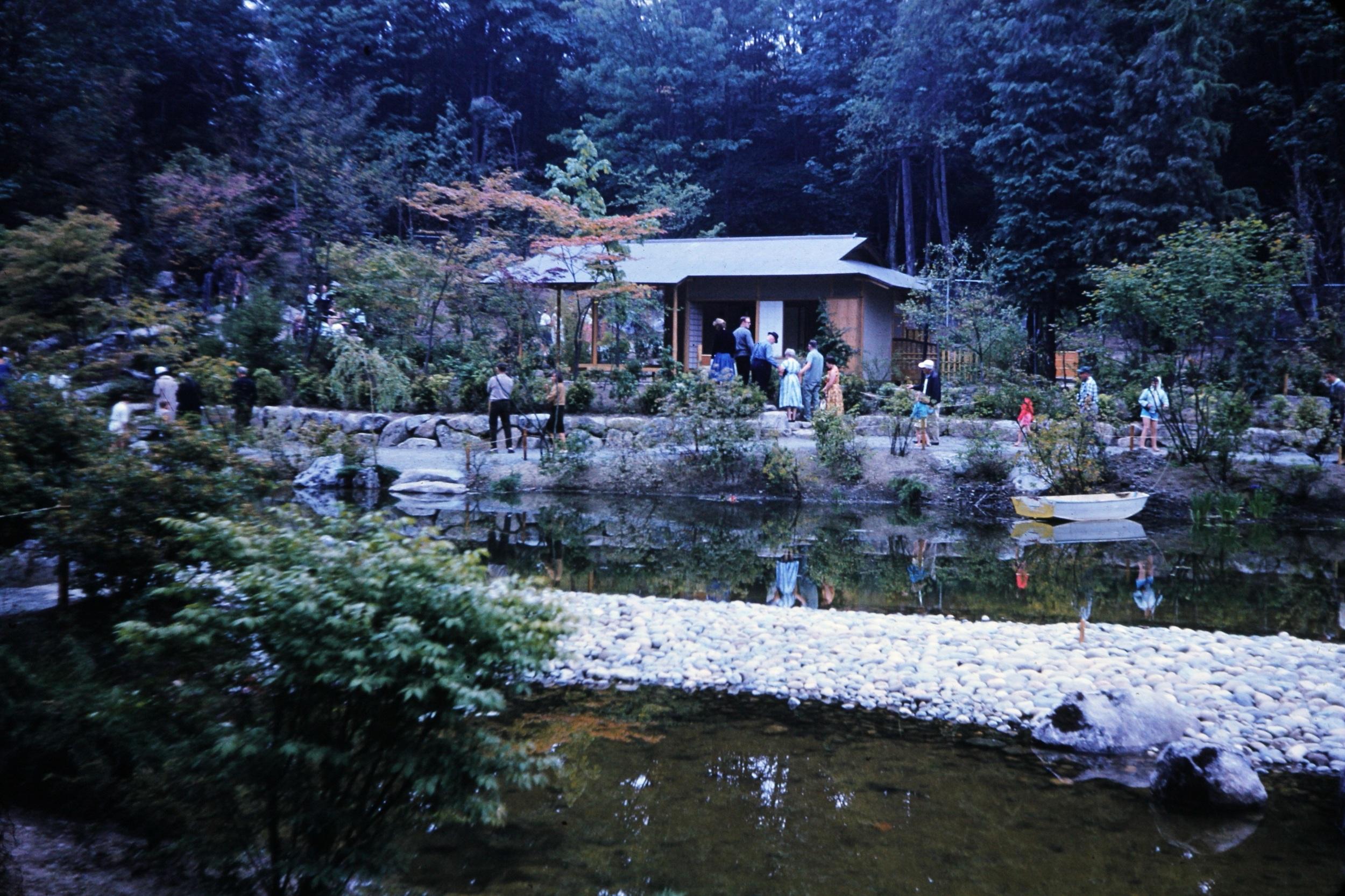 japanese garden then and now u2014 seattle japanese garden