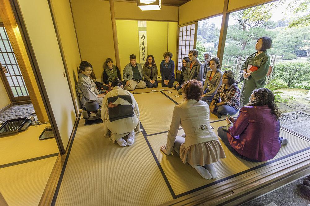 Special tea ceremonies presented by Urasenke-ryu Tankokai (Photo by SlickPix Photography)