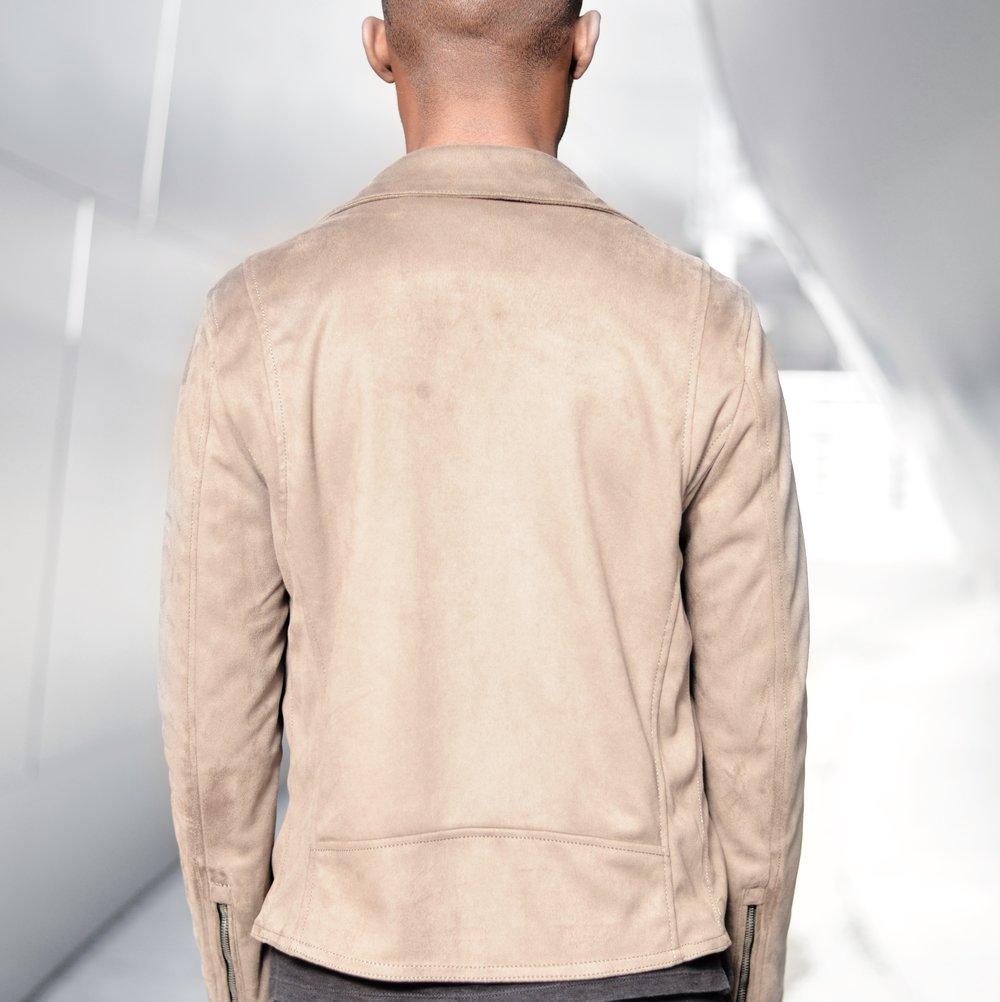 Modern take on Classic Tan Biker Jacket