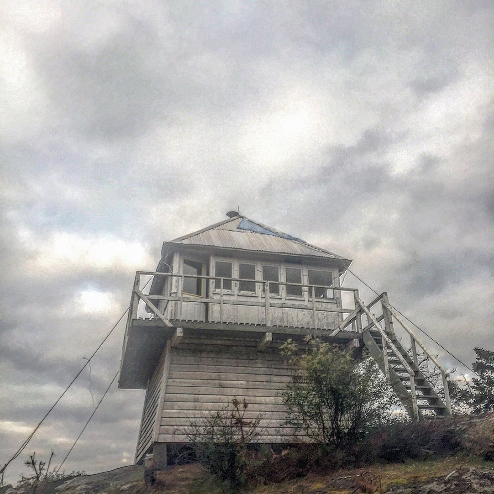 Harrison Fire Lookout.
