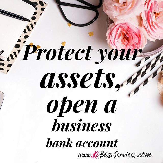 If you set your business up as a LLC or corporation, you most likely did it to protect your personal assets. Hence, the assets, debt, and other liabilities are those of your business, not you personally. So why are you now mixing the two? Stop putting your protection at risk and keep your financial accounts separate. Business for Business ONLY.  Join my mailing list (click the bio link) to get more tips that will educate you on money and business.