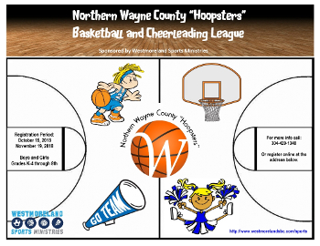 Basketball/Cheerleading - Jan. 5 - Feb. 23, 2019
