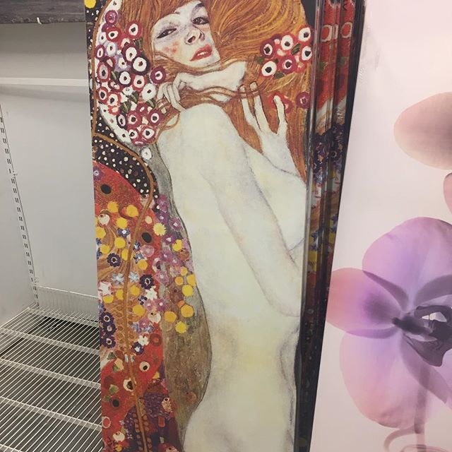 Almost took this bad chick home today #gustavklimt