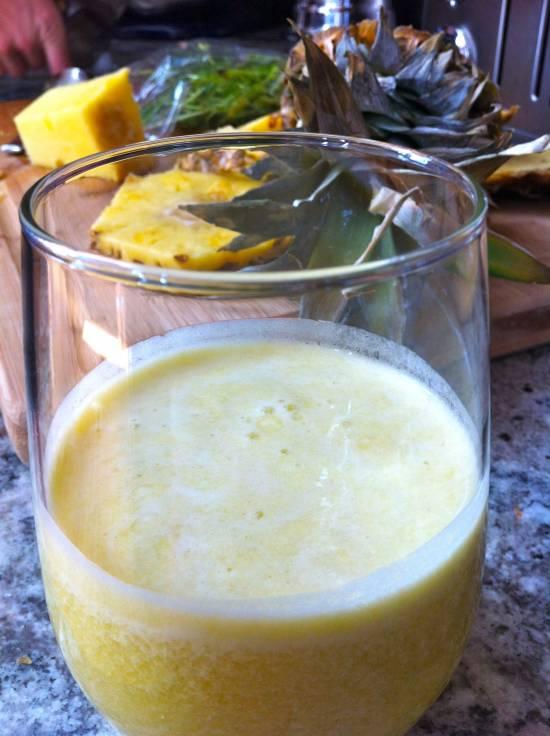 pineapple ginger cilantro juice