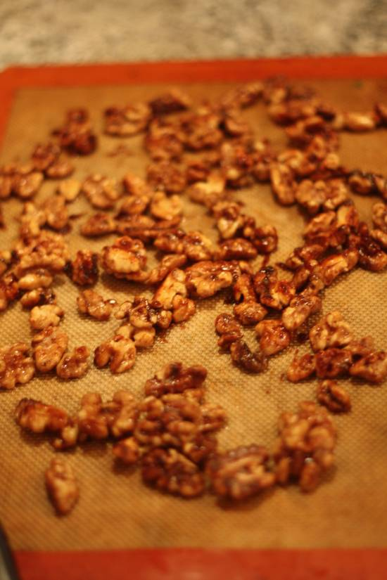 cook your own candied walnuts
