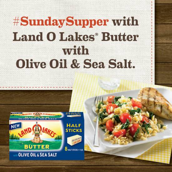 land o lakes butter with oil and sea salt