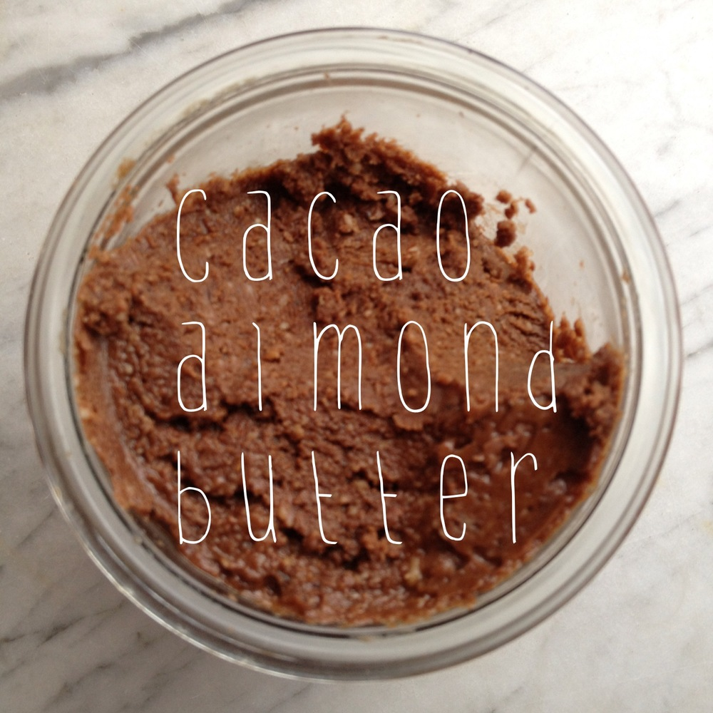 the pig and the fig cacao almond butter
