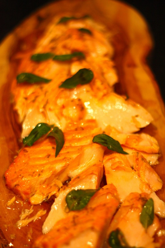 chili lime roasted salmon