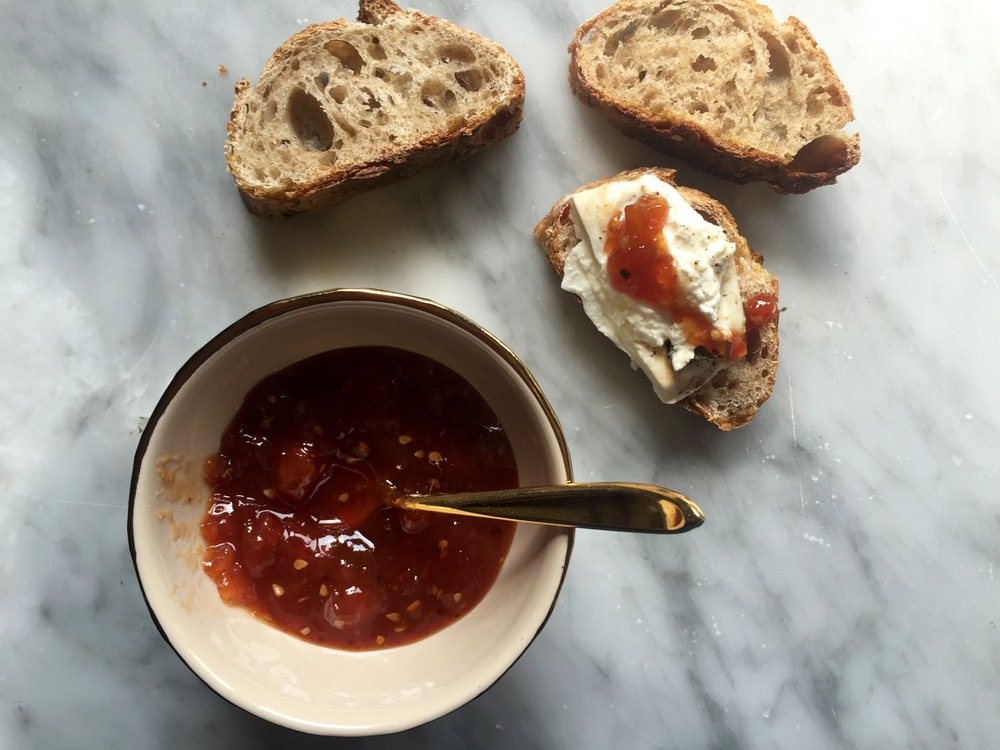 tomato and ancho chili jam
