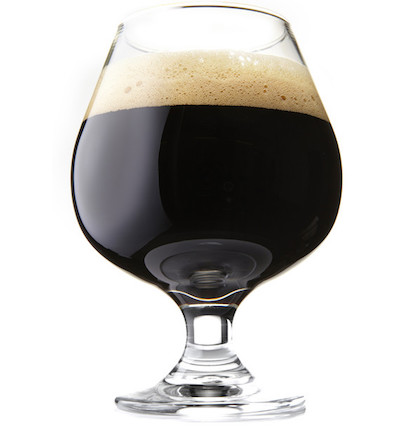Christmas Ale Dark and complex. Brewed as a traditional farmhouse ale. Highlights of butter toffee, chocolate, and dark fruit with an earthy balance.  4.27 ABV 15.14 IBU  Color of 21.4 SRM Food pairings: Crusty breads, apple pie, fruitcake.  Served in a snifter glass.