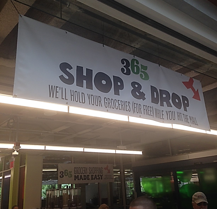 Whole foods 365 concept in Bellevue Square - a new take on an old classic