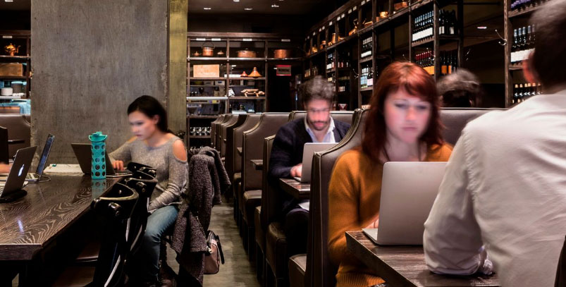 NYC's Spacious manages a network of restaurant-co-working spaces