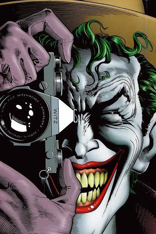 Smile!  The Killing Joke