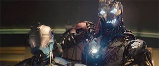 Damaged Ultron from Avengers 2 Age of Ultron Teaser Trailer