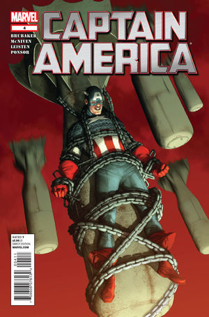 Captain America #4 by Steve McNiven (2011)