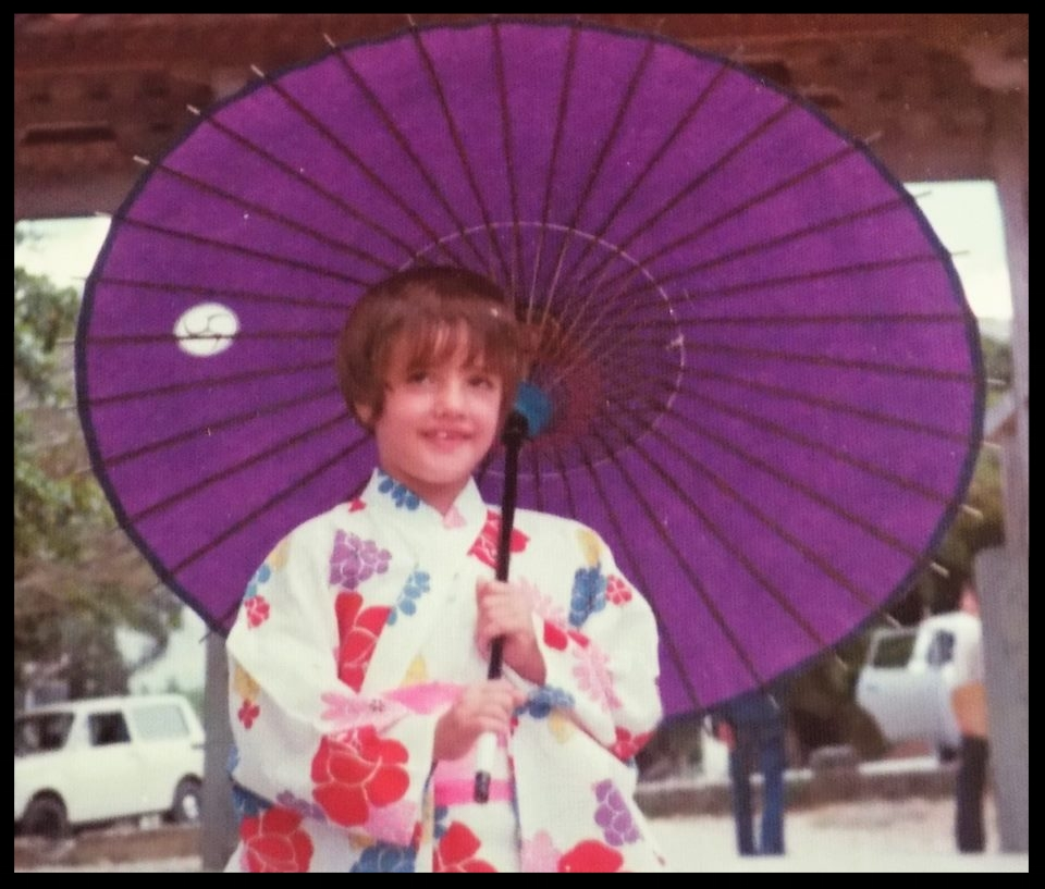 Picture of me in Okinawa in my first kimono.