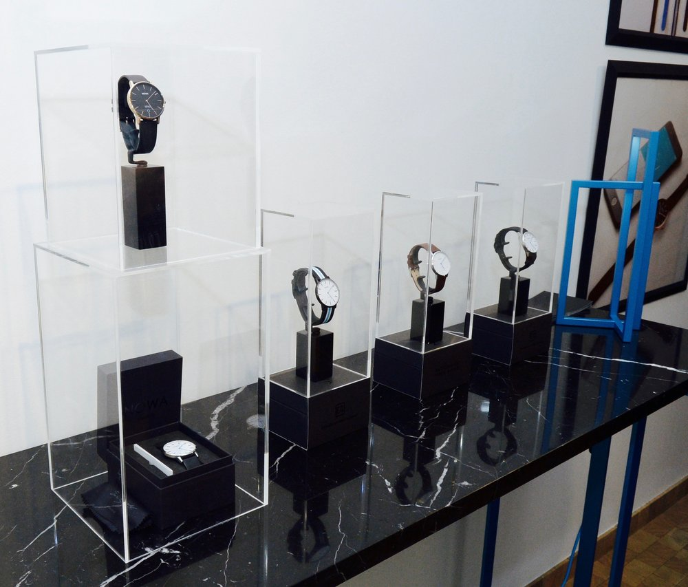The NOWA Shaper collection displayed at the Eric Gizard Gallery for fans, distributors, reviewers and bloggers.