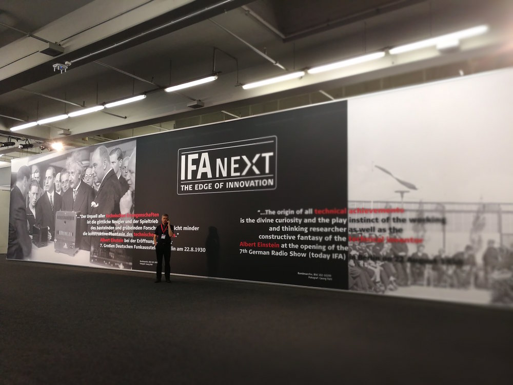 IFA NEXT, Hall 26, Booth 211