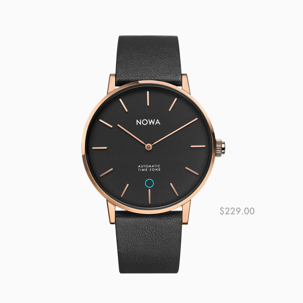 SHAPER | DESSUS CHICS - Rose gold / Black - 40 mm