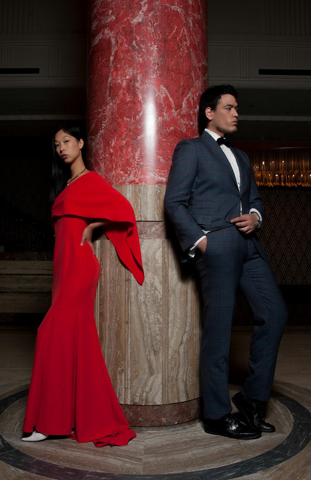 Warren Pasi and Cissy Zhang Primus Hotel