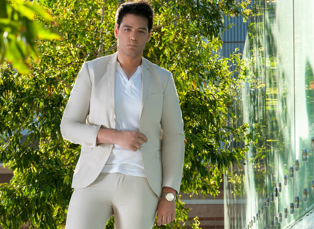 Warren Pasi Australian Model and Social Media Celebrity wearing H&M and Lacoste