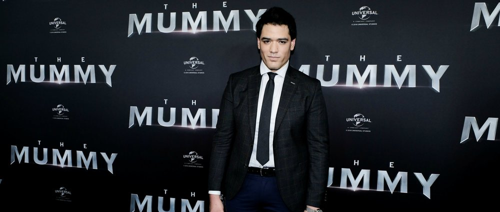 Red carpet | Get the lookWARREN PASI AT THE MUMMY PREMIERE. -