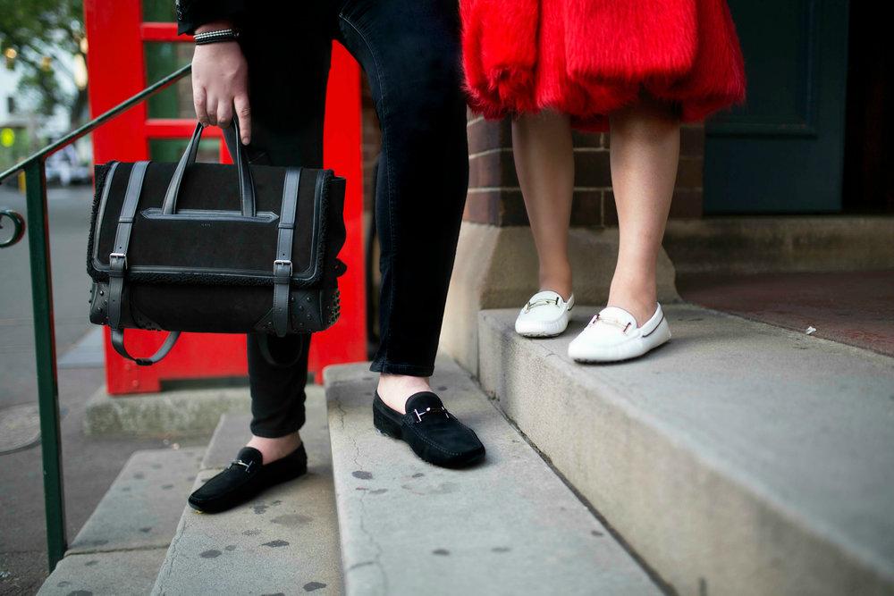 Warren Pasi and Cissy Zhang Model for Tods