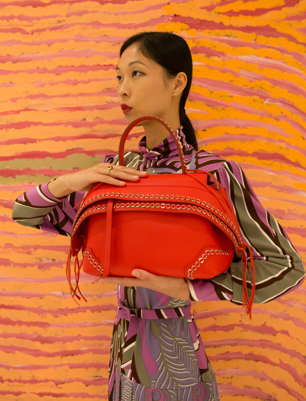 Cissy Zhang Model for Tods