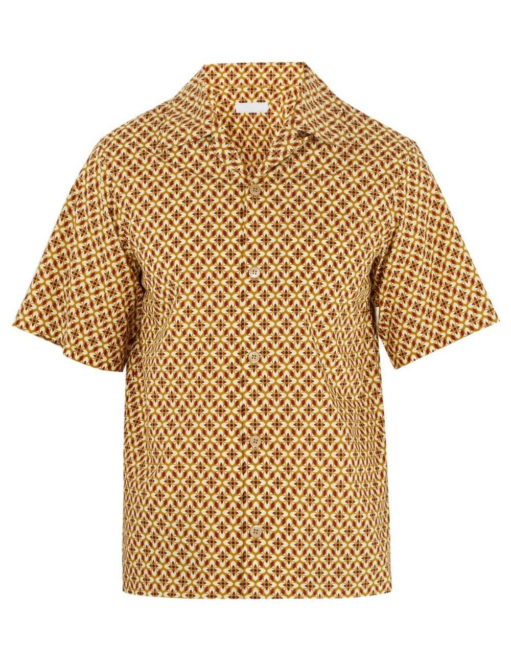 PRADAFloral-print cotton shirt - MATCHESFASHION.COM