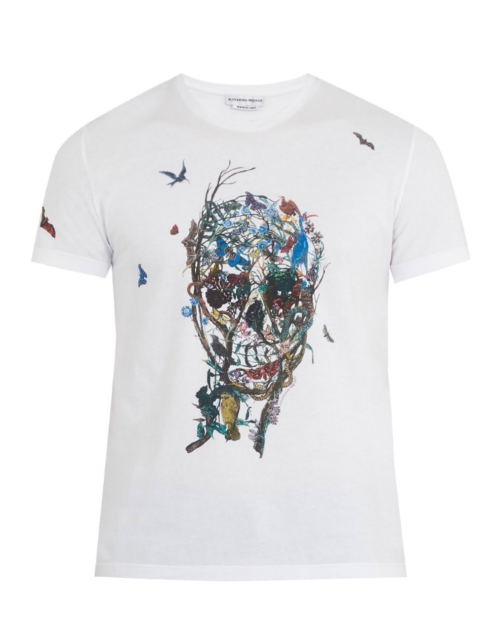 ALEXANDER MCQUEENSkull-print cotton-jersey tshirt - MATCHESFASHION.COM