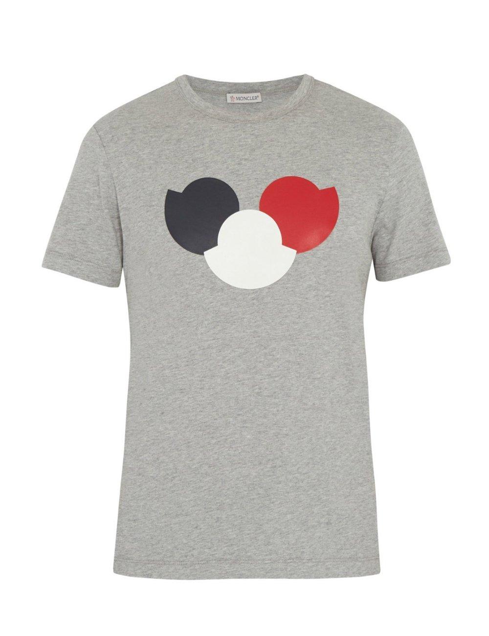 MONCLERLogo-print cotton-jersey tshirt - MATCHESFASHION.COM