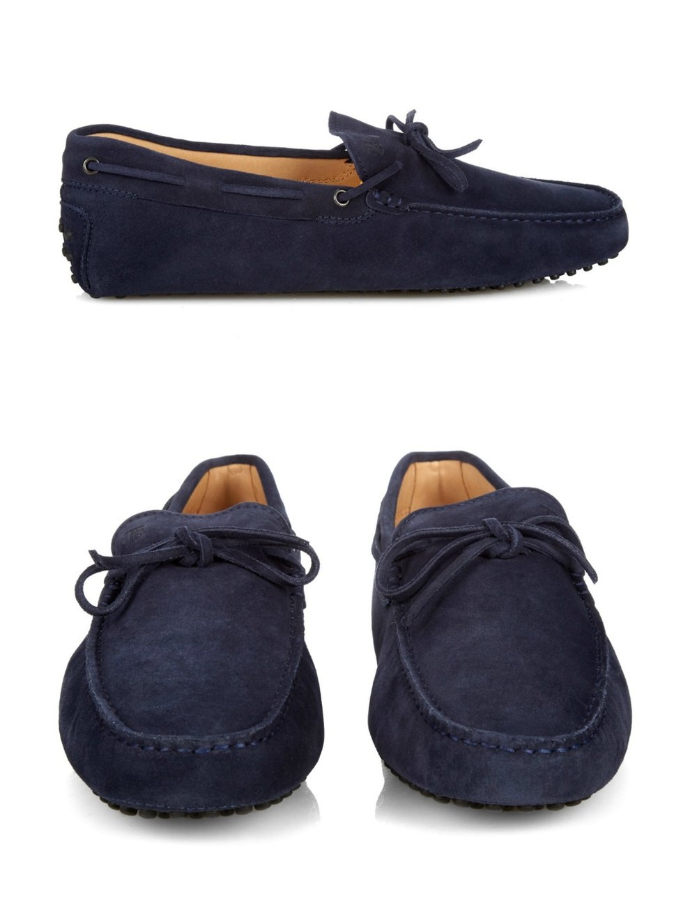TODSGommino suede driving shoes - MATCHESFASHION.COM