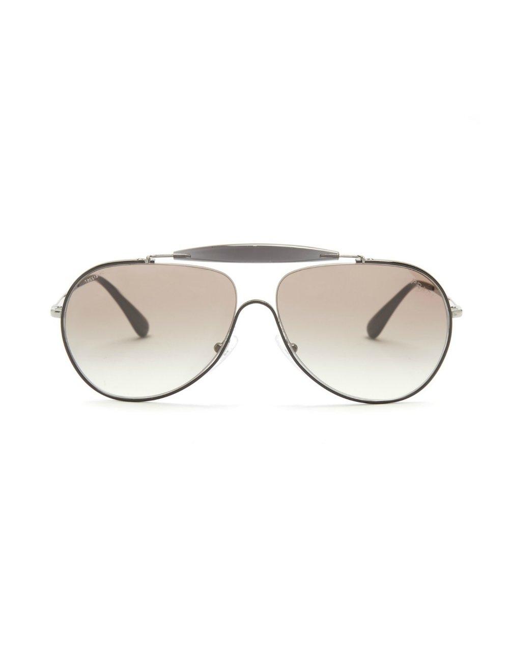 PRADATinted aviator sunglasses - MATCHESFASHION..COM
