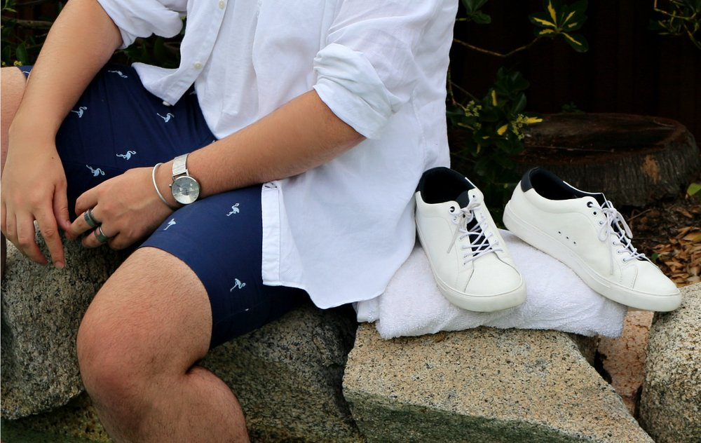 The Style Edit | Fashion  MY SUMMER ESSENTAILS -   Linen shirts, shorts, tees, polos...here are a few things you will find me wearing this summer.