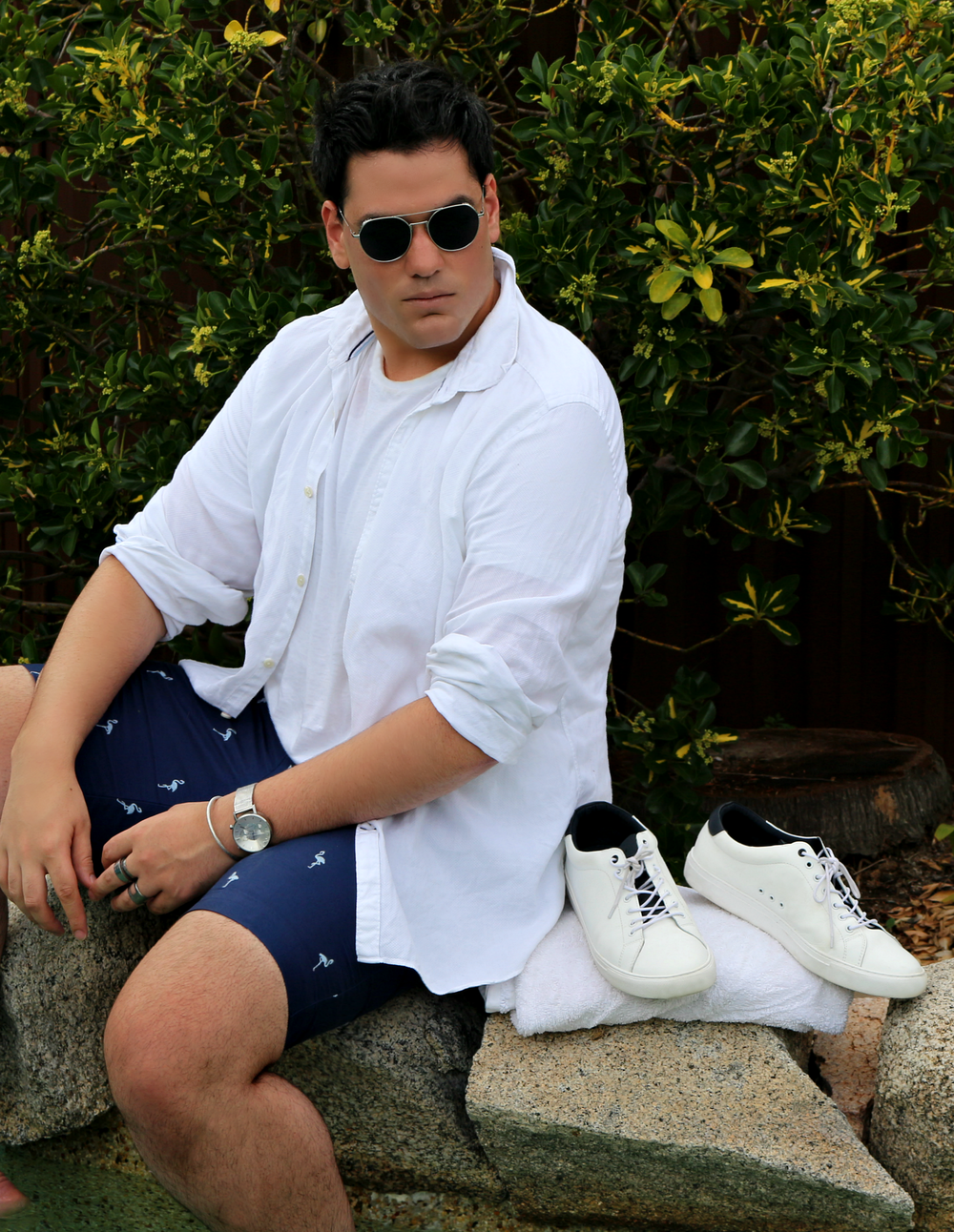 Style | TPD EditSUMMER ESSENTIALS FOR HIM - Linen shirts, shorts, tees, polos...here are a few things you will find me wearing this summer.