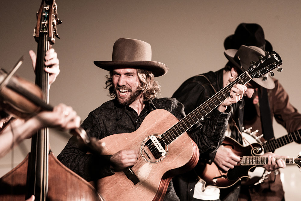 WILLIE WATSON WITH OLD CROW MEDICINE SHOW - LEONGATHA -  2010
