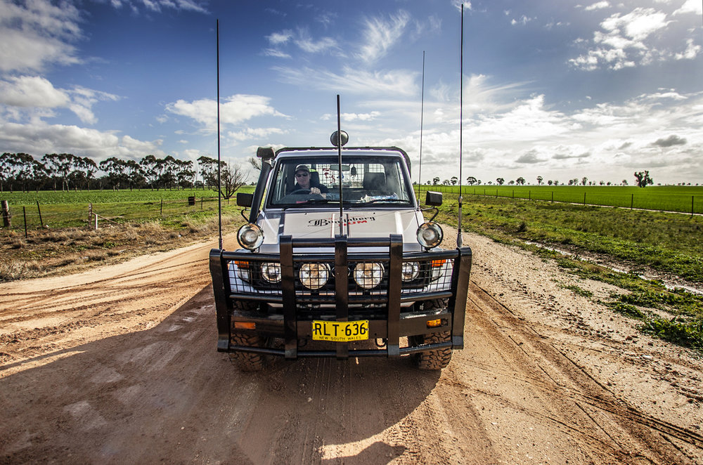 JOHN DEERE MAN / URANGELINE EAST NSW