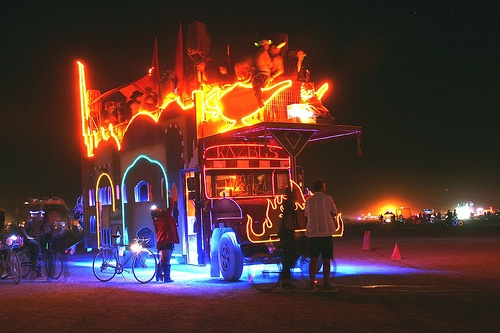 Kazbus at Burning Man