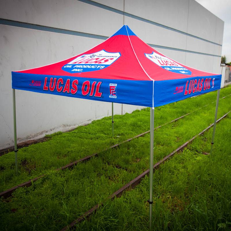 Lucas Oil - 10' x 10' - Design 1