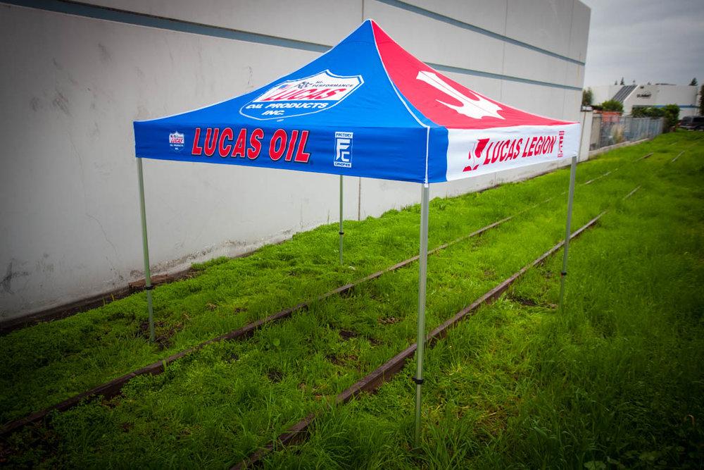 Lucas Oil - 10u0027 x 10u0027 ... & Gallery u2014 Factory Canopies