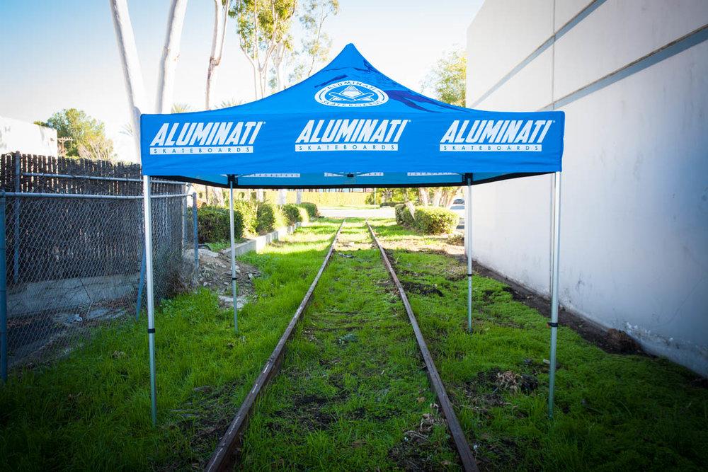 Aluminati - 10' x 10' - Vented Top