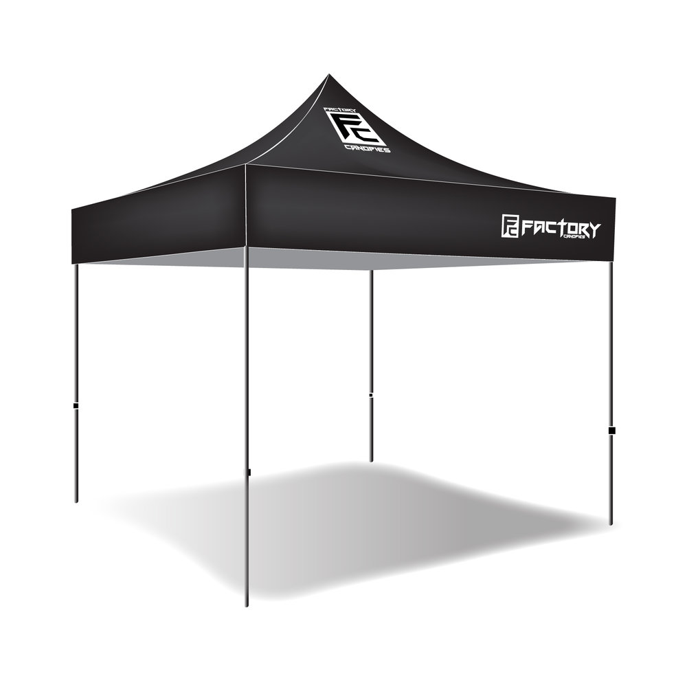 10x10 Custom Pop Up Tent  sc 1 st  Factory Canopies & 10x10 Custom Pop Up Tent u2014 Factory Canopies