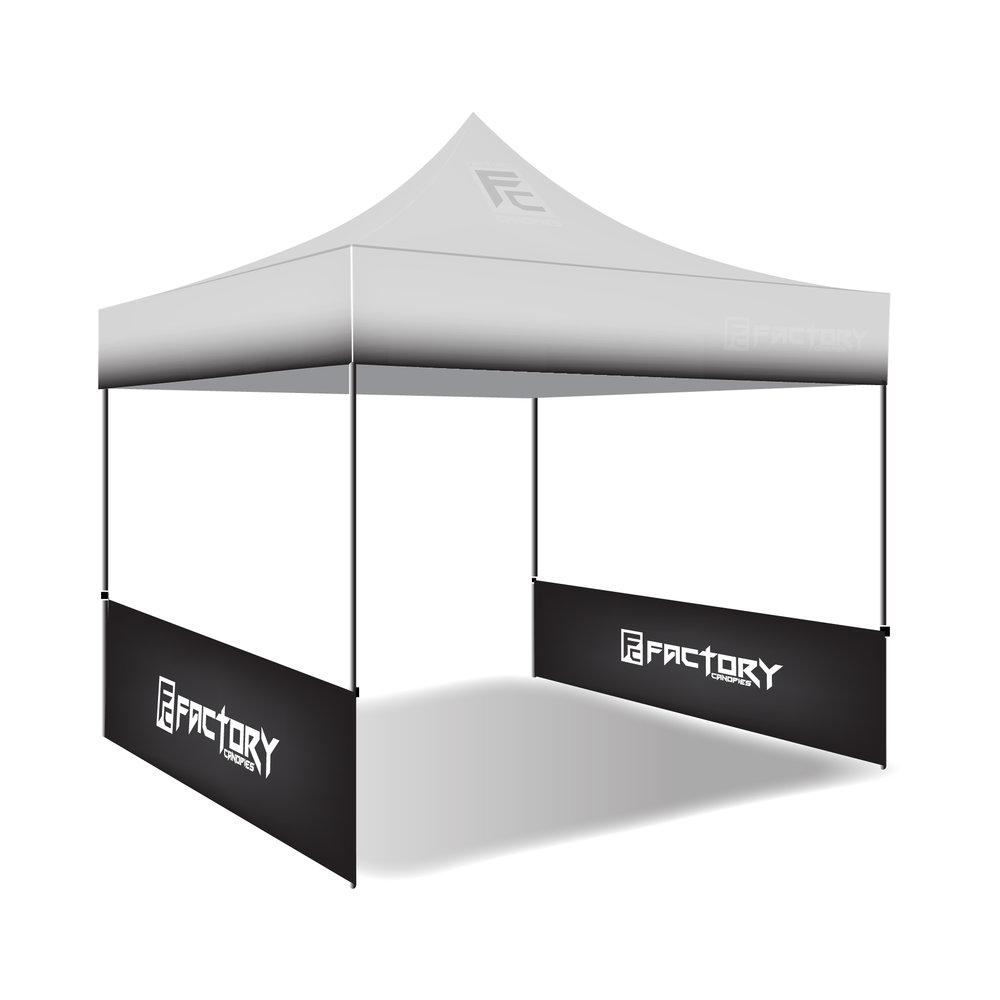 10x3 canopy side skirt factory canopies 10x3 custom pop up - Custom Pop Up Tents