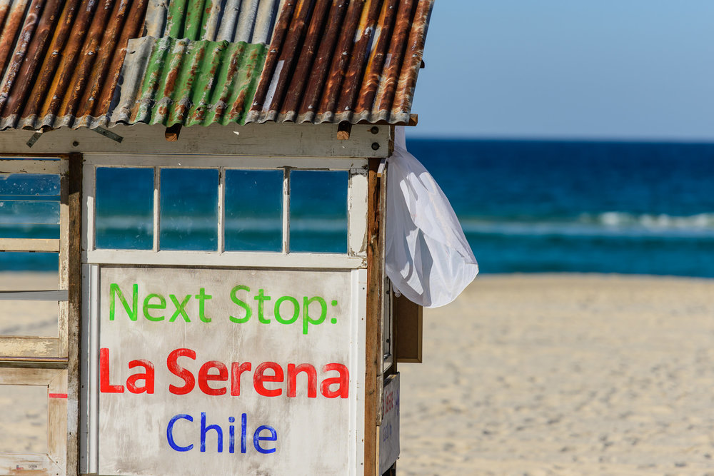 BUS STOP - DIRECTION - LA SERENA CHILE  I  ROSI GRIFFIN  I  QLD